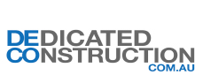 Dedicated Construction logo
