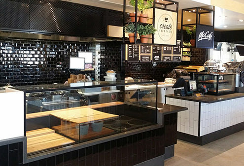 McCafe counters