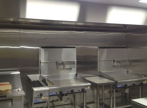 Commercial stainless steel cookers manufactured by Metro Steel Services at Oporto Bently