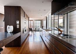 Beautiful stainless steel kitchen in a Perth home